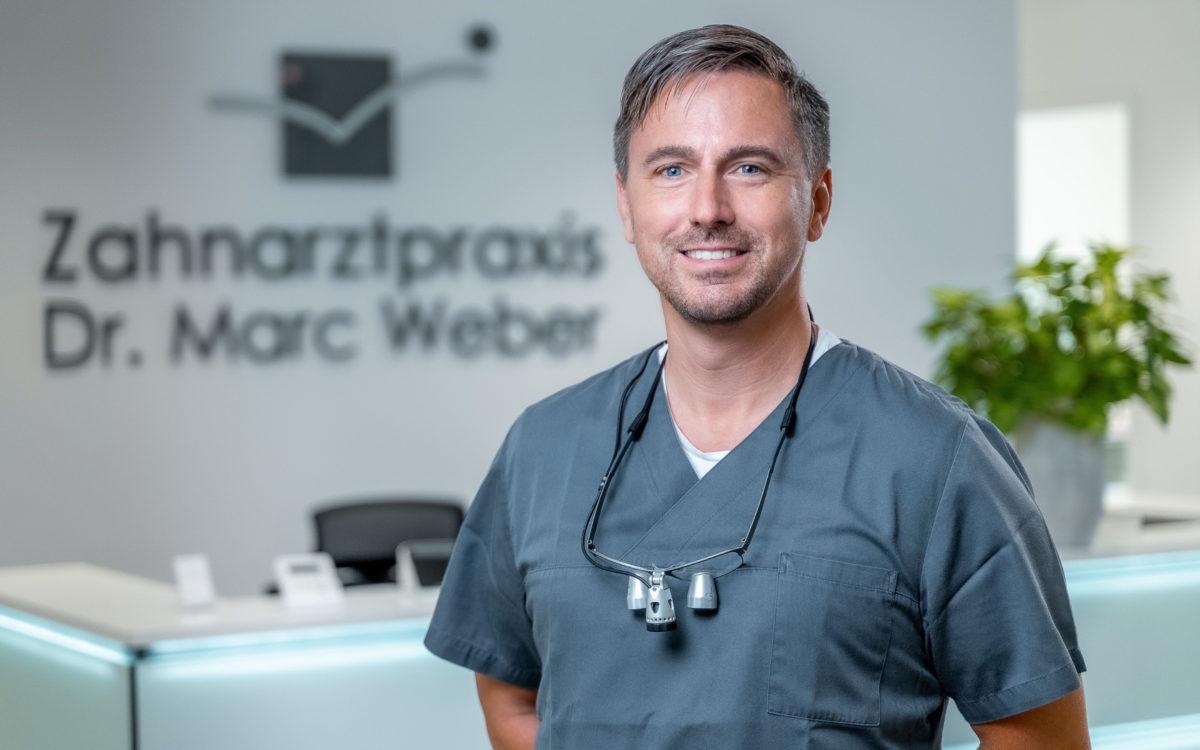 Herr Dr. med. dent. Marc Weber